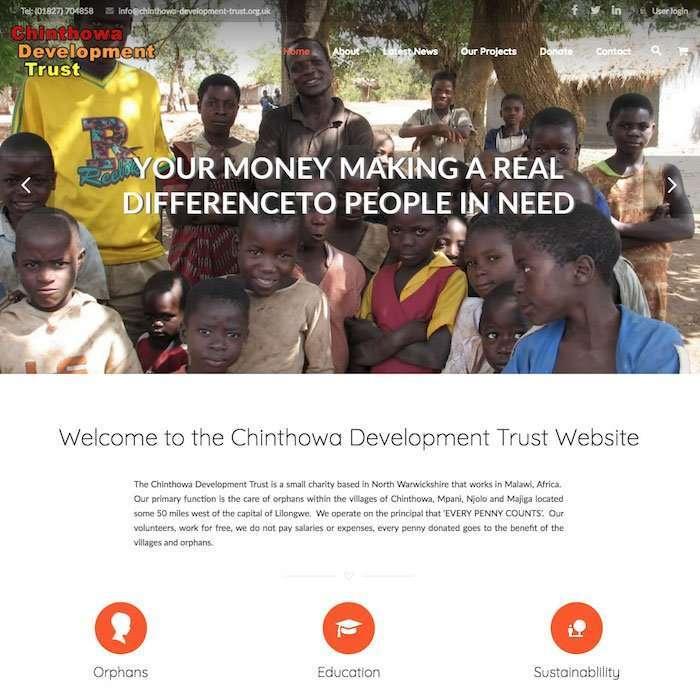 Wordpress Websites For Charities & Social Enterprises