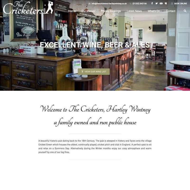Wordpress Websites For Pubs & Clubs
