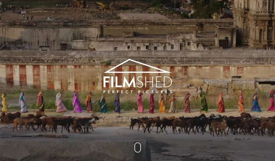 Film Shed - Post Production Services Wordpress Website