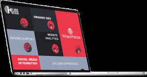 Helios Web Design provides specialist WordPress website design