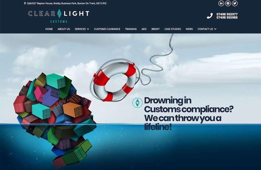 Clearlight Customs Website
