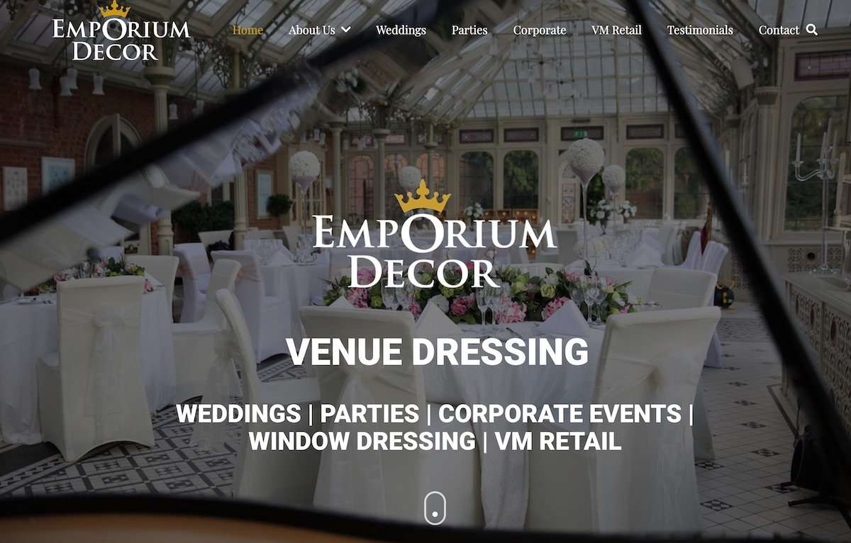 Emporium Decor Ltd – Venue & Event Dressing