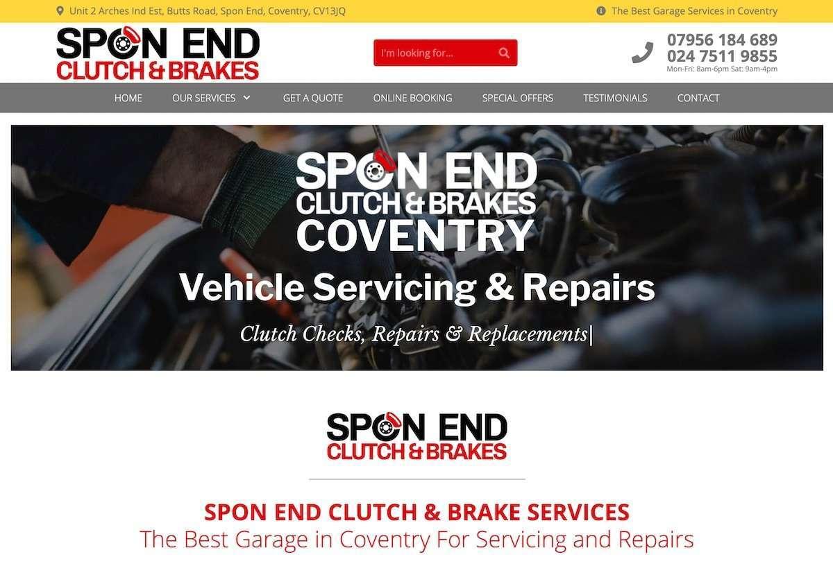 SPON END CLUTCH & BRAKE SERVICES