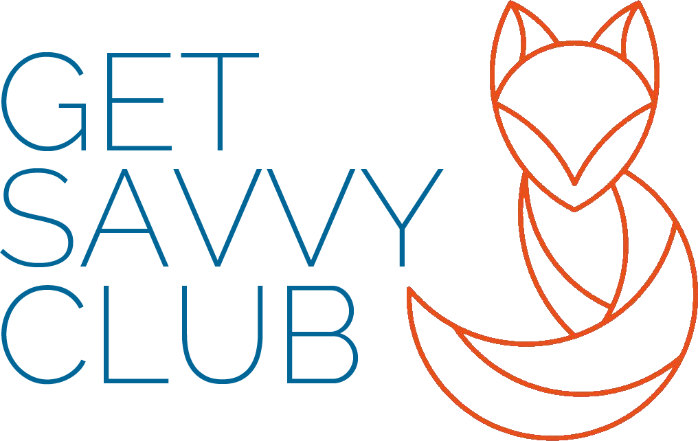 Get Savvy Club - Wordpress Website