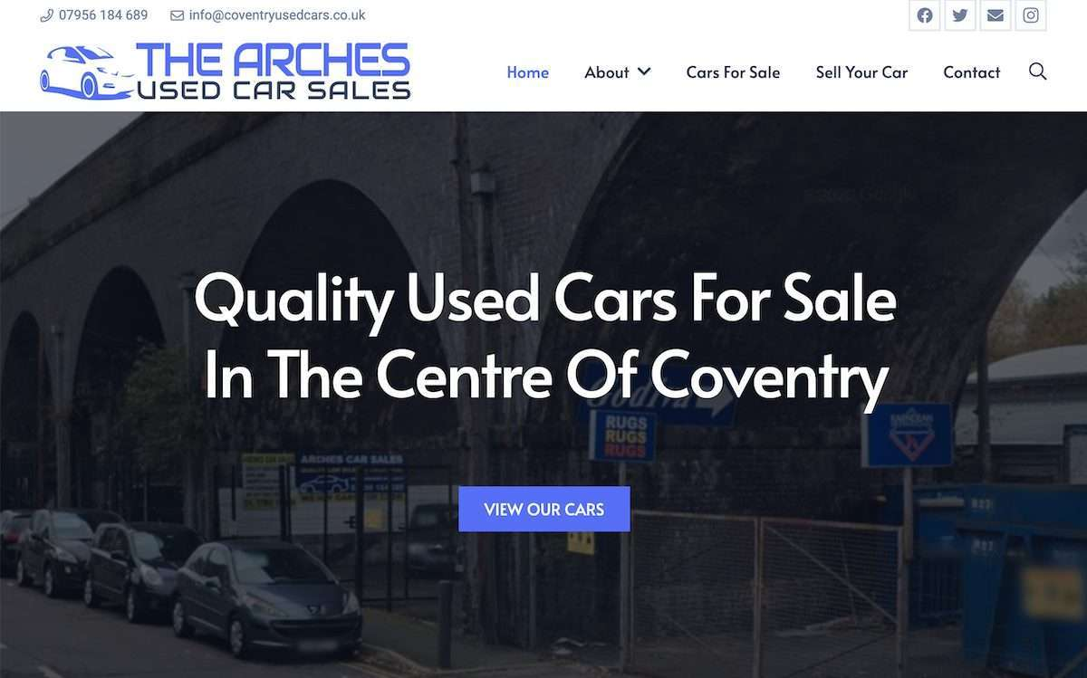 Coventry Used Car Sales - The Arches (Spon End, Coventry)